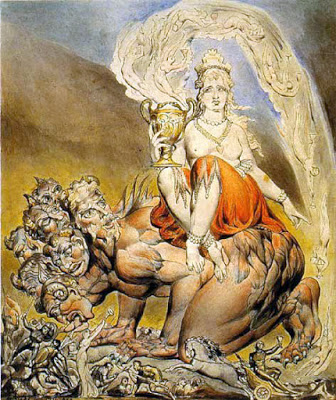 Enochian Oracle of Babalon: Whore of Babylon, William Blake