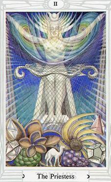 Thelemic Tarot: Thoth Tarot Priestess II