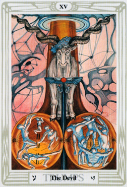 Crowley-Thoth Tarot The Devil XV Capricorn