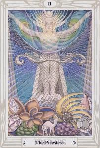 The Priestess II Thoth Tarot