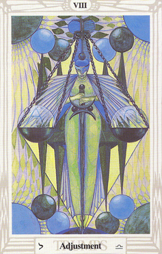 Maat Equinox: Thoth Tarot Adjustment VIII