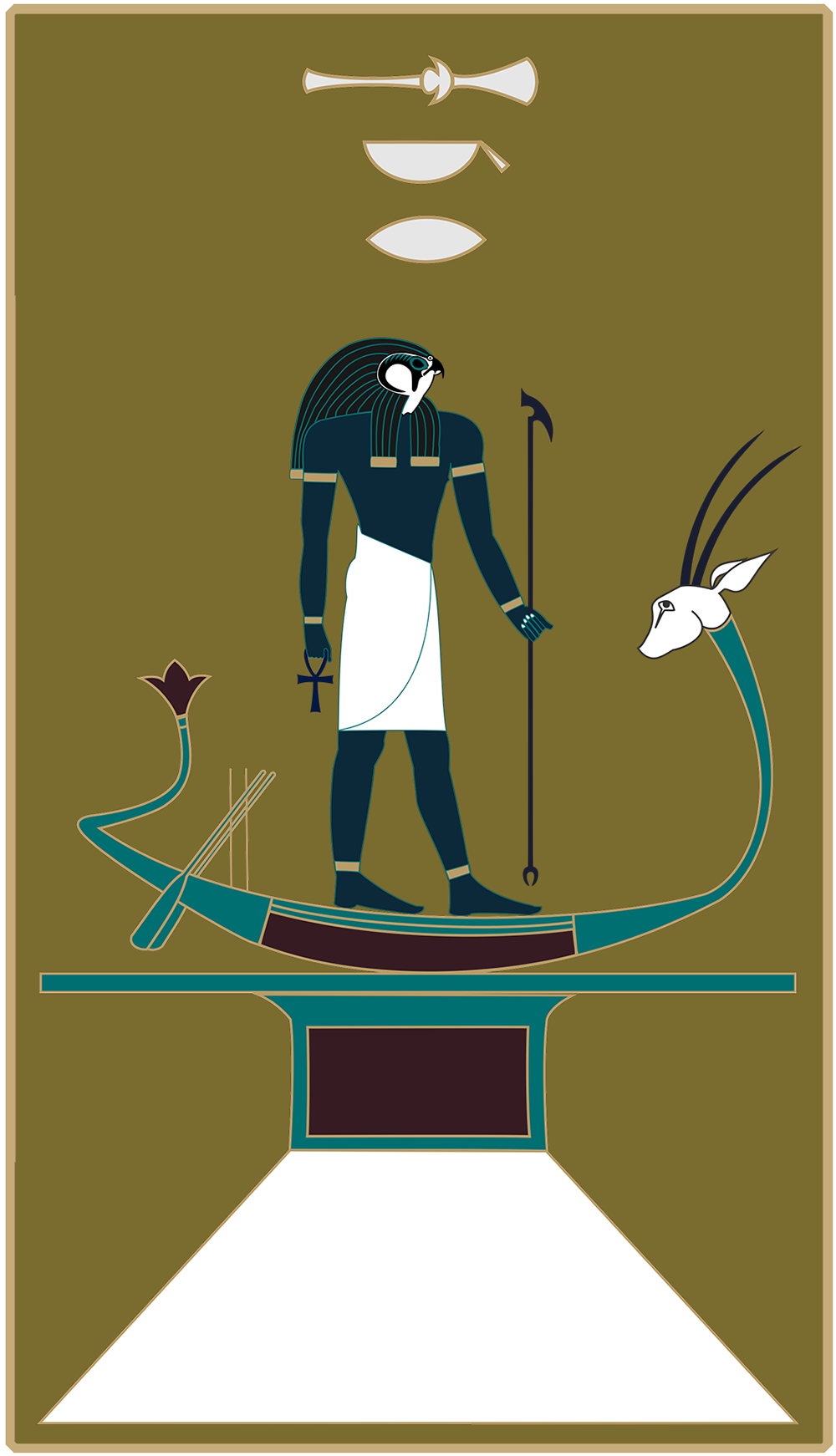 Egyptian God Sokar