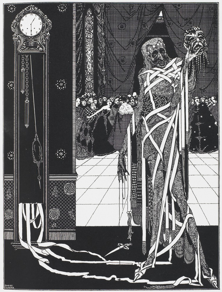 Masque of the Red Death, illustration by Harry Clarke