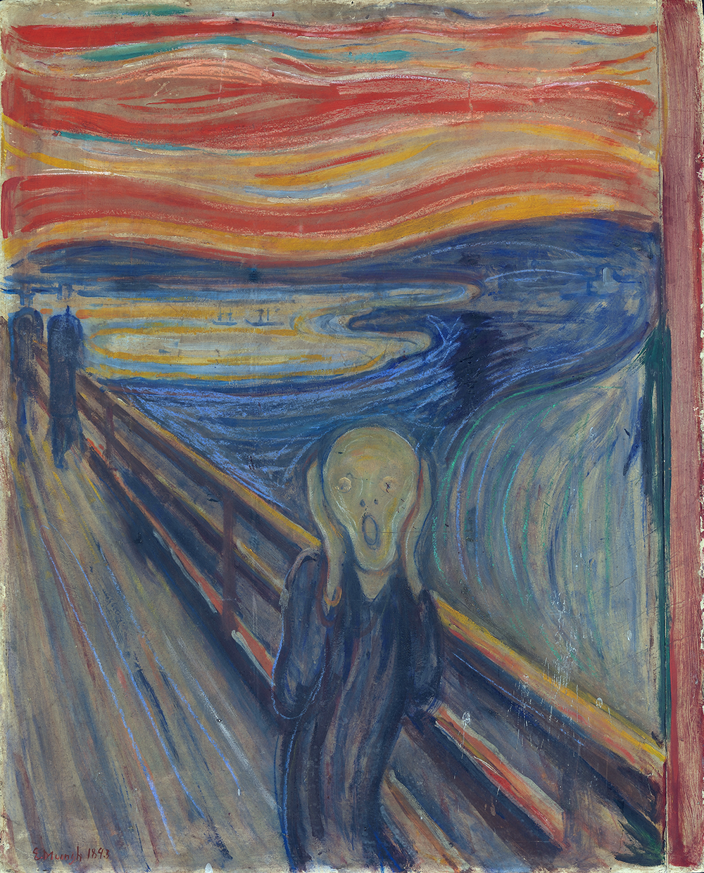 Edvard Munch 1893 The Scream